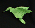 Origami Animals bird hummingbird