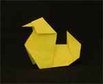 origami birds duck