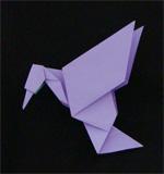 origami birds hummingbird