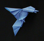 origami birds eagle
