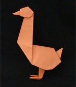 Origami Animals bird goose