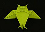 Origami Animals Bull