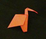 origami animals birds ibis