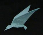 origami birds seagull