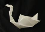 origami birds rooster swan