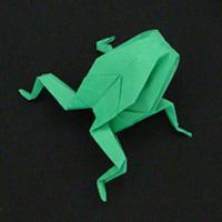 Origami Animals frog