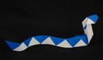 Origami Animals snake reptile