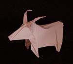 origami animals ram goat