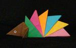 origami animals hedgehog