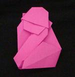 Origami Animals gorilla monkey