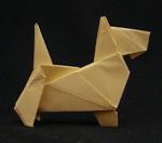 origami animals dog