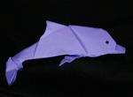 Origami Animals dolphin