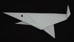 origami animals shark fish