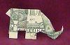 Origami Animals elephant
