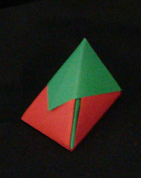 origami Santa box