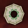 money origami frisbee