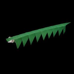 origami catepillar
