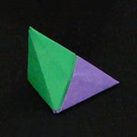 modular origami Pyramid
