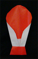 origami air balloon