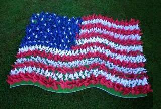 origami american flag