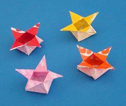 chocolate wrapper origami
