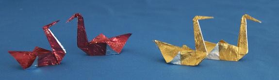 chocolate origami