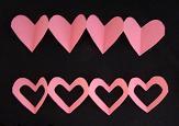 Paper Chain Heart