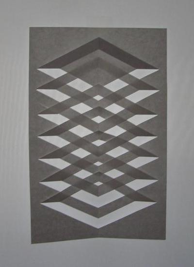 Kirigami Rectangle Window Decoration