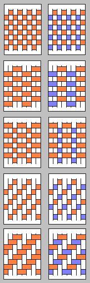 Paper Weaving Patterns