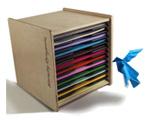 origami paper storage