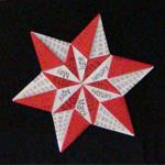 Origami Star Calendar