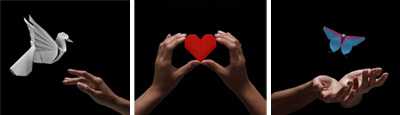 love, hope, peace