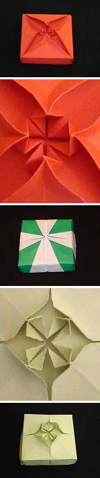 Unfolding Mathematics with Origami Boxes