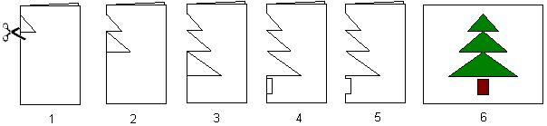 Origami Candy Cane Diagram