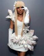 origami lady gaga
