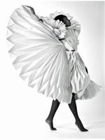 carnival paper dress