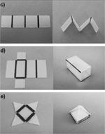 self folding origami