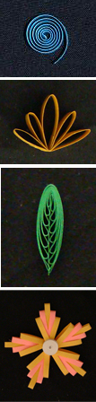 quilling basic coils