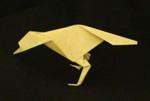 origami birds crow
