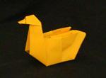 origami duck birds