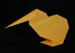origami birds kiwi