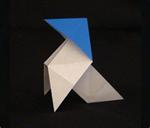 origami birds pajarita
