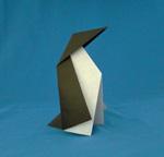 origami birds penguin