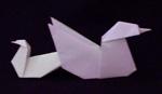 origami birds seagull duck egg