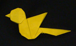 Origami Animals Sparrow Bird