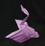 Origami Animals swan water fowl