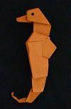 origami animals seahorse sea life