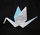 origami paper crane peace crane