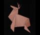 origami christmas theme