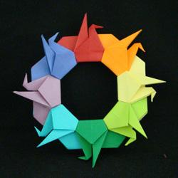 linked cranes